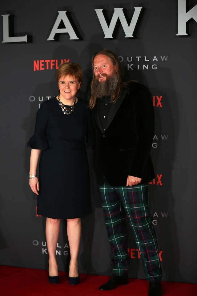 Outlaw King Scottish premiere – Edinburgh