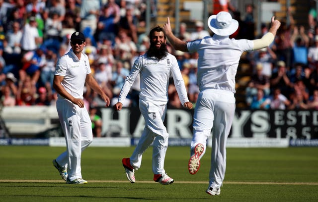 Moeen Ali took five wickets in the Cardiff Test (David Davies/PA).