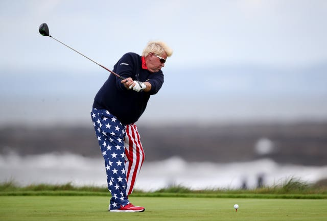 John Daly is known as a larger than life character on and off the golf course (Nick Potts/PA)
