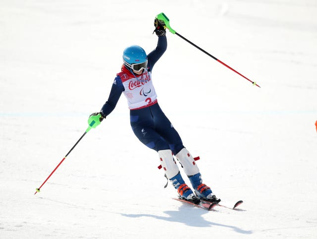 Menna Fitzpatrick added to her super-G bronze from Sunday (Adam Davy/PA)