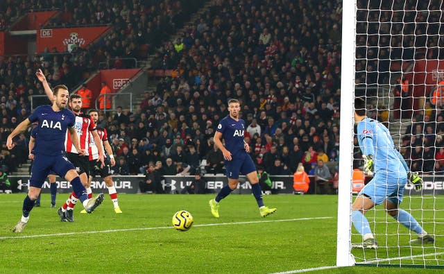 Kane suffered the injury while scoring an offside goal in a 1-0 loss at Southampton on New Year's Day