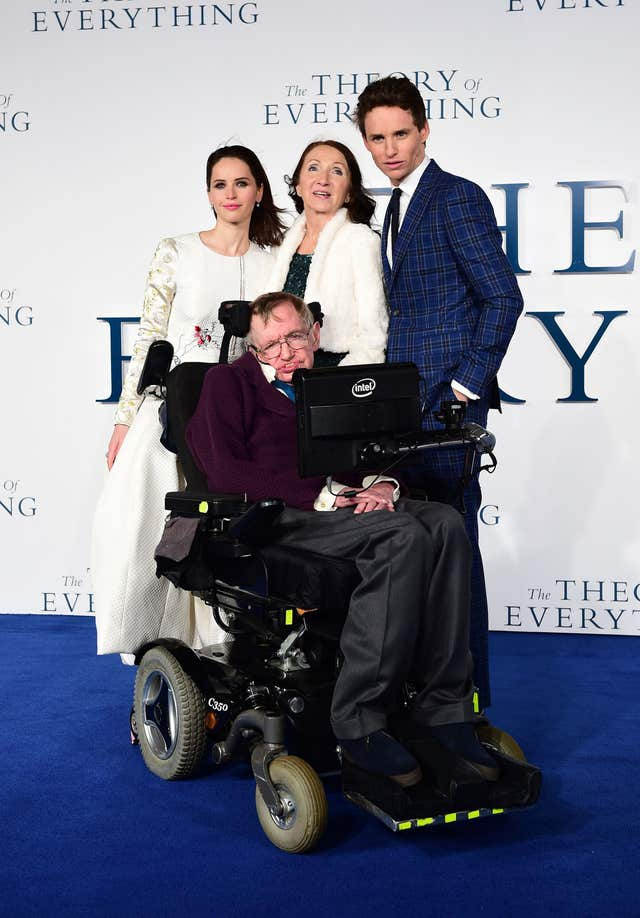 The Theory of Everything premiere – London