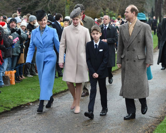 Royals attend Christmas Day Church service