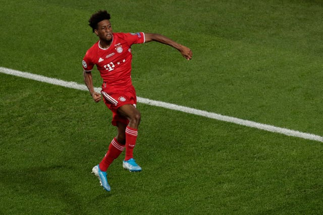 Kingsley Coman netted the winner for Bayern