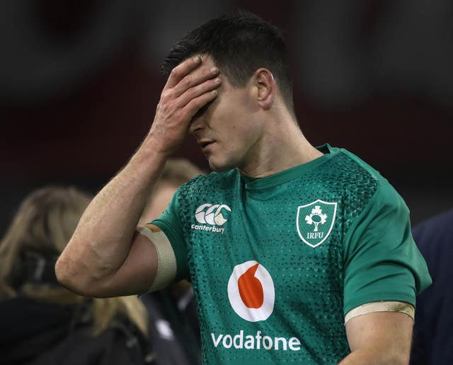 Jonny Sexton and his Ireland team-mates fell to defeat at home to England last week