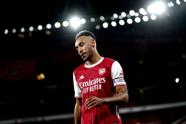 Aubameyang has drawn a blank in Arsenal's last five Premier League games.