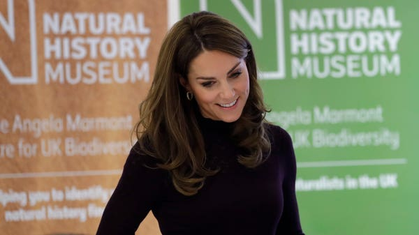 Kate learns about efforts to protect UK wildlife in Natural History Museum visit