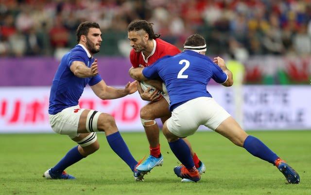 Josh Navidi is back for Wales