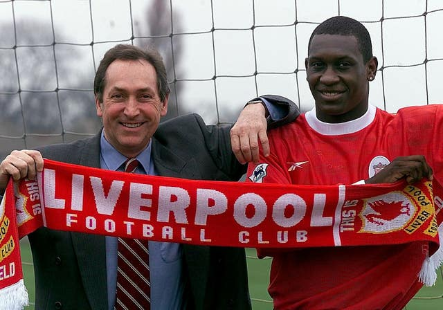 Emile Heskey made the move from Leicester to Liverpool