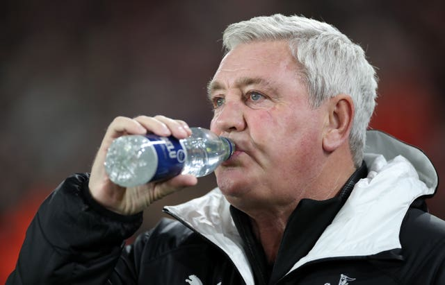 Steve Bruce saw his Newcastle side win again