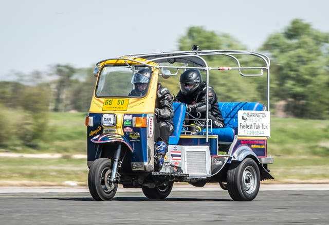 Tuk tuk world speed record