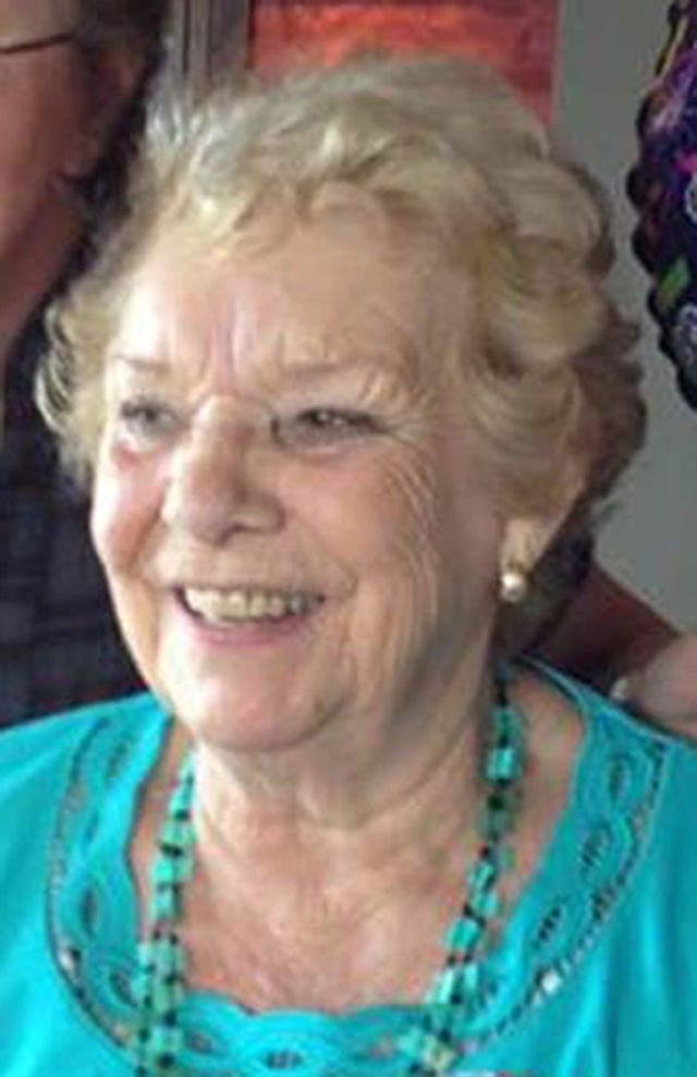 Eileen Brennan, 82, who died following the bus crash in Northgate, Darlington (Durham Police/PA)