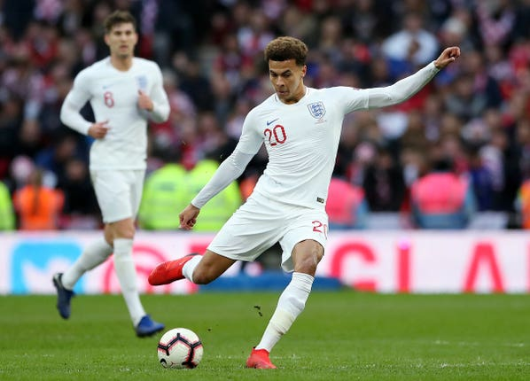 Dele Alli will hope to return