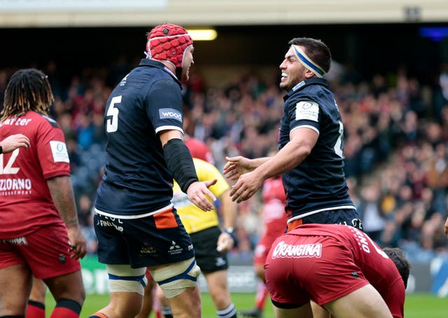 Edinburgh v Toulon – Heineken European Champions Cup – BT Murrayfield Stadium