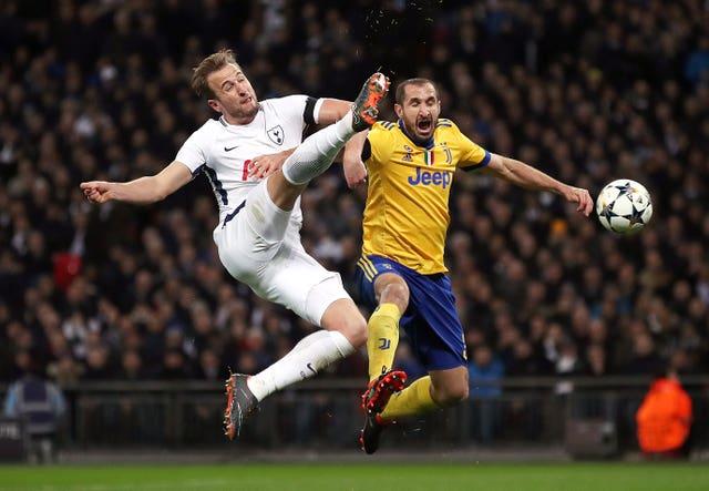 Tottenham Hotspur - Juventus - UEFA Champions League - Round of 16 - Second Leg - Wembley Stadium