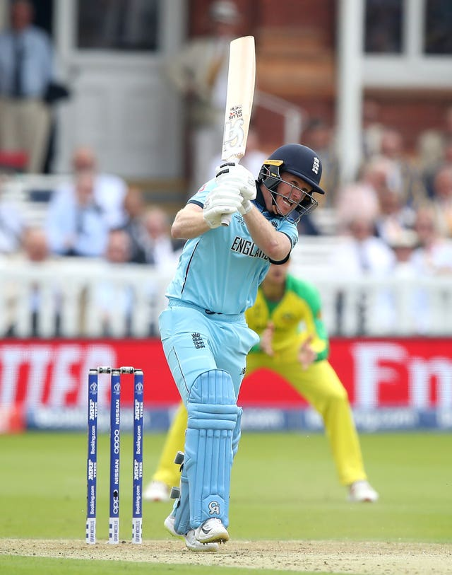 England's Eoin Morgan made just four against Australia