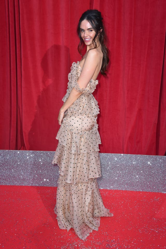Jennifer Metcalfe on the red carpet