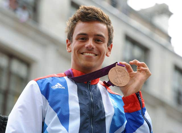 Daley is a two-time Olympic bronze medallist