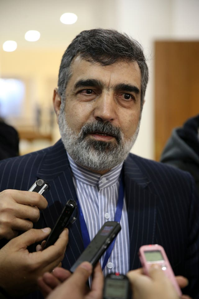 Spokesman for Iran's atomic agency Behrouz Kamalvandi
