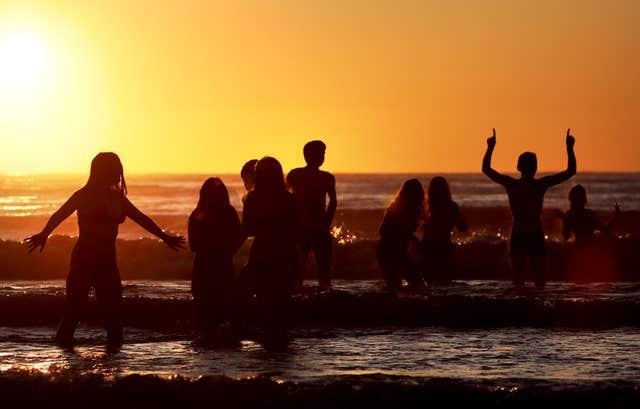 Close your eyes and think of Ibiza... (Jane Barlow/PA)