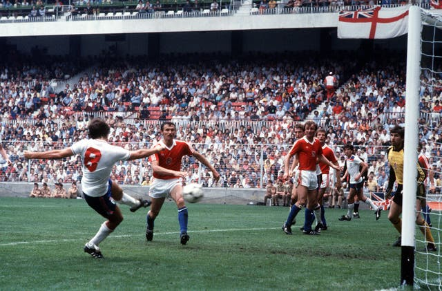 England during World Cup 82