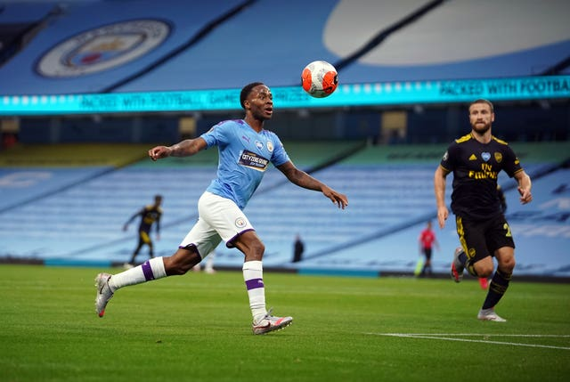 Raheem Sterling has spoken out about the lack of black representation in leadership roles