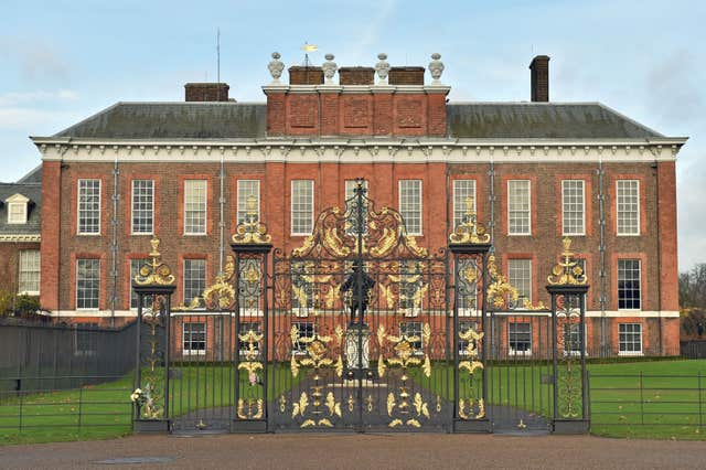 The royal baby will live at Kensington Palace (Dominic Lipinski/PA)