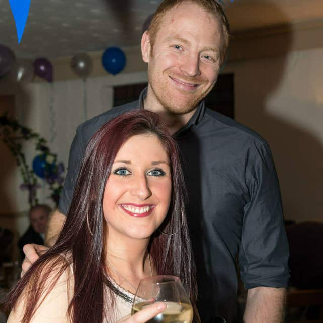 Malcolm Willsher with his wife Jodie. Neville Hord admitted murdering her (North Yorkshire Police/PA)