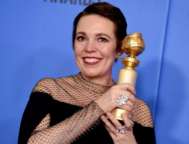 76th Annual Golden Globe Awards – Press Room