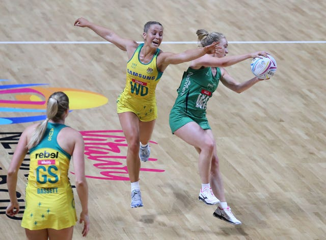 Northern Ireland were heavily beaten by Australia