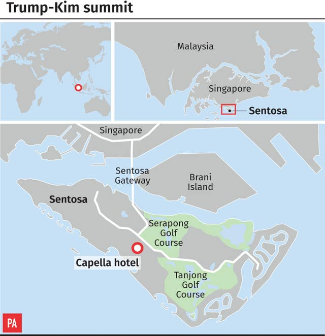 Singapore summit graphic
