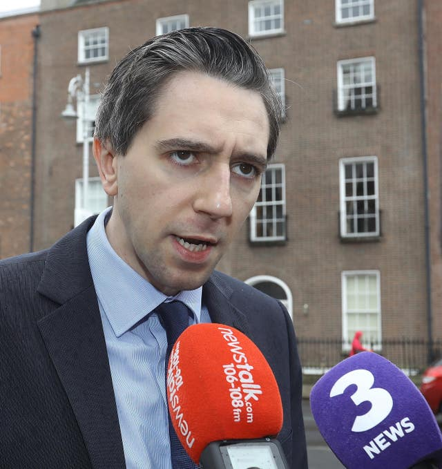 Simon Harris expressed a preference for home-based examination of samples ( Lorraine O'Sullivan/PA)
