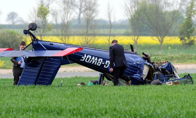 2010 General Election plane crash