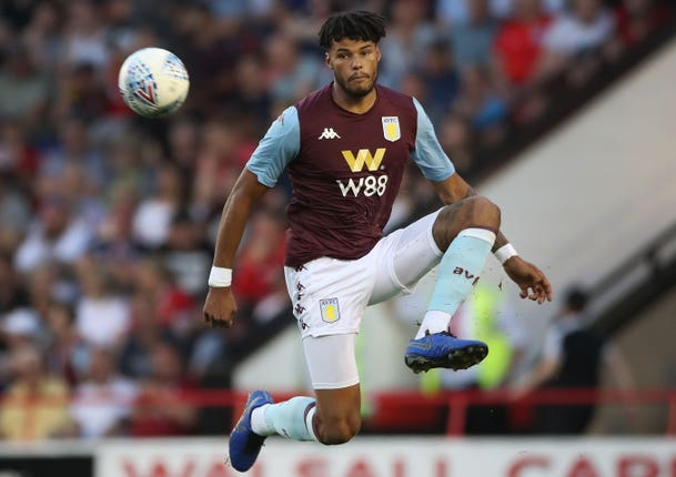 Mings during an Aston Villa pre-season friendly