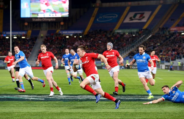 Wales made it two wins from two in the Guinness Six Nations after defeating Italy at the Stadio Olimpico