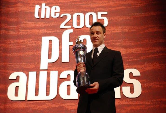 Terry won the 2005 PFA players' player of the year award