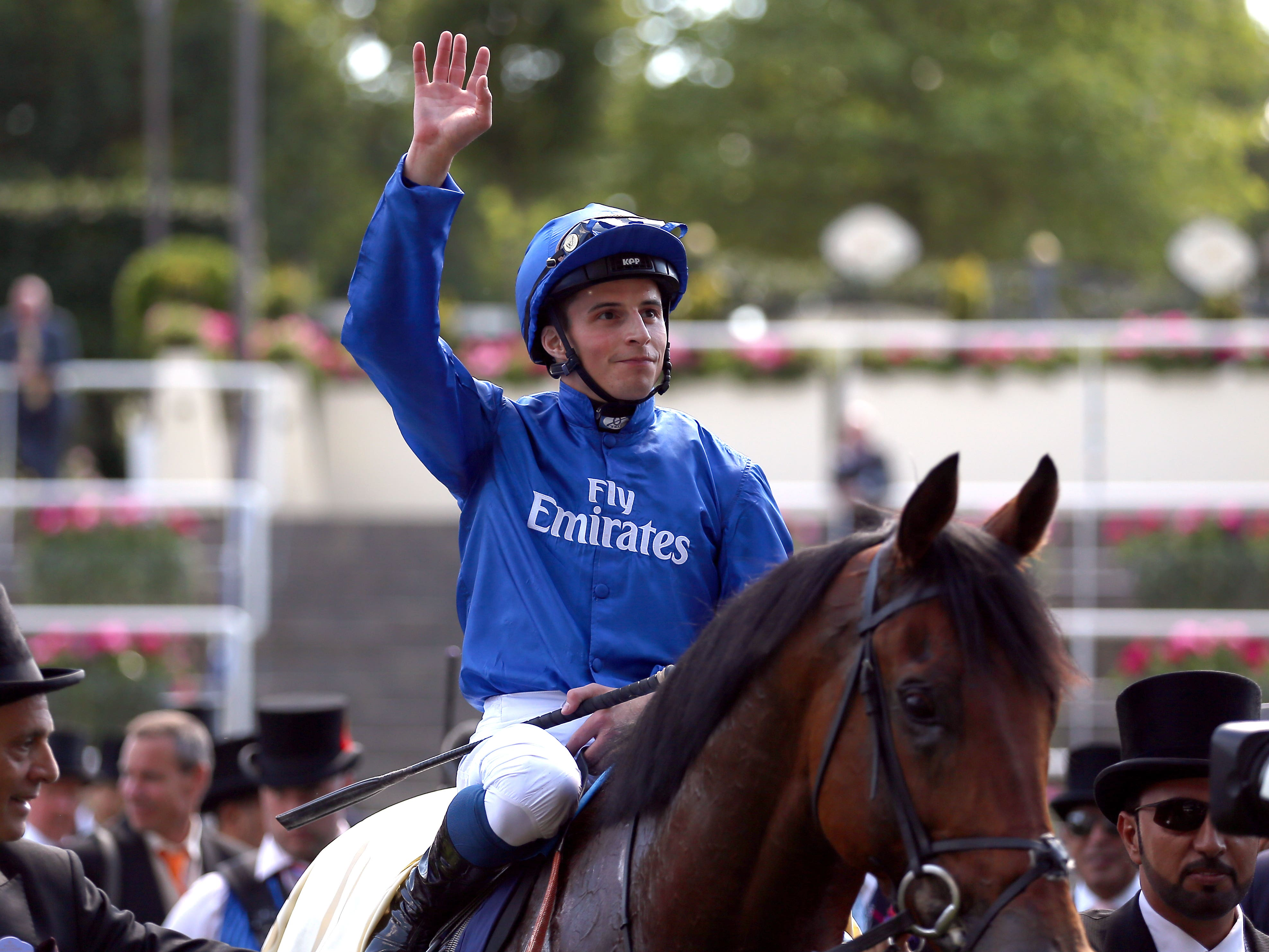 Charlie Appleby hopes William Buick will be fit for action nest week (Nigel French/PA)