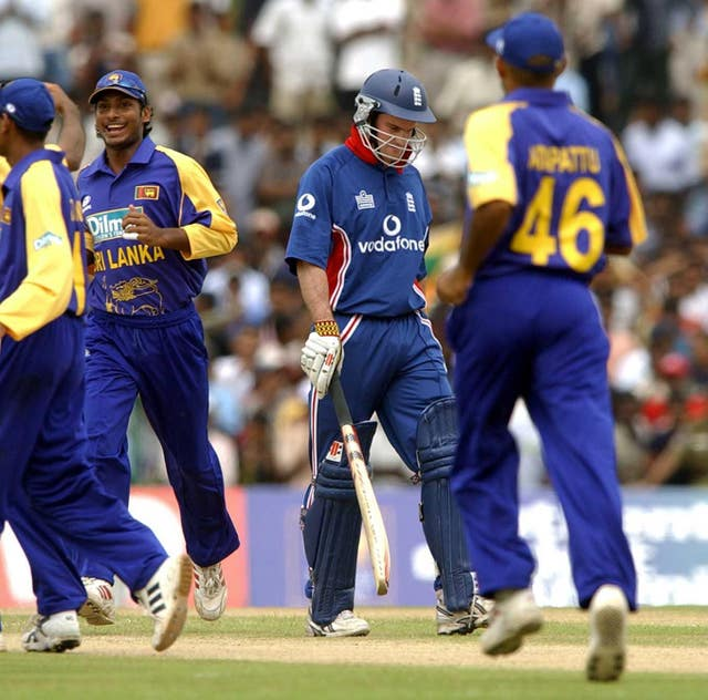 Sri Lanka got the best of England in Strauss' first full series.