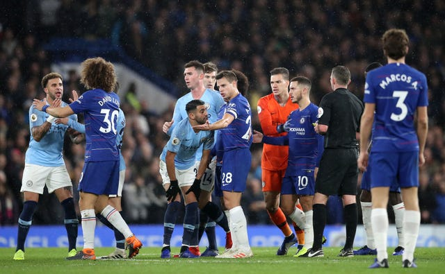 Chelsea players show frustration after losing 6-0 to Manchester City