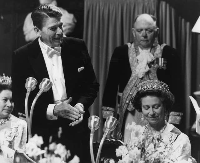 Ronald Reagan and the Queen