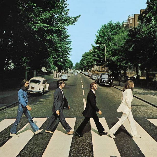 50th anniversary of The Beatles Abbey Road photograph