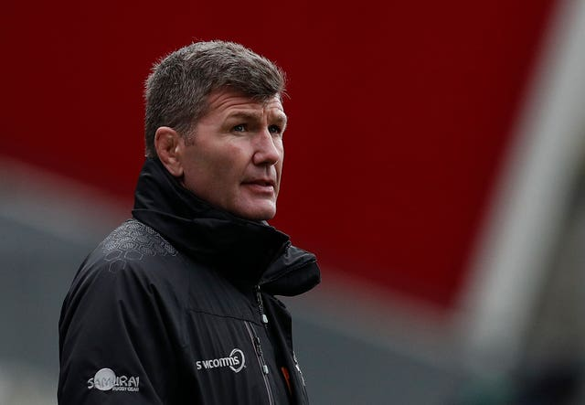 Rob Baxter does not believe Saracens will be stripped of their titles
