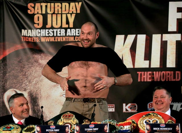 Tyson Fury lost 10 stone in his bid to return to the ring