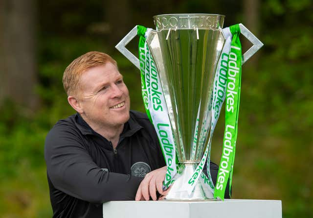 Lennon has been in charge when Celtic clinched five of their last nine titles