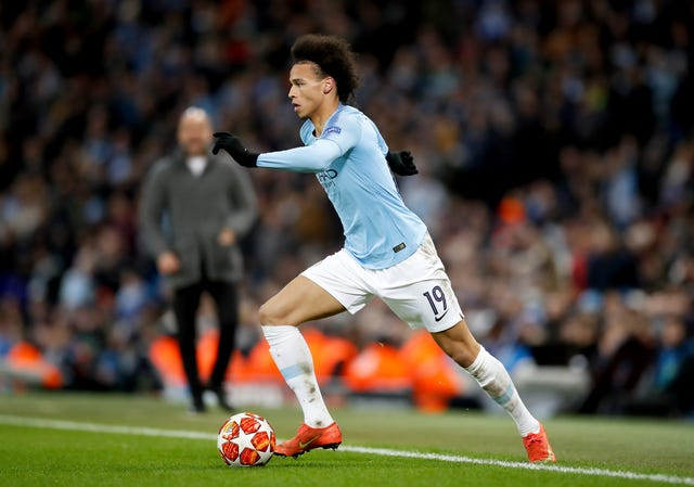 Manchester City's Leroy Sane has a chance to push his claims for more pitch time