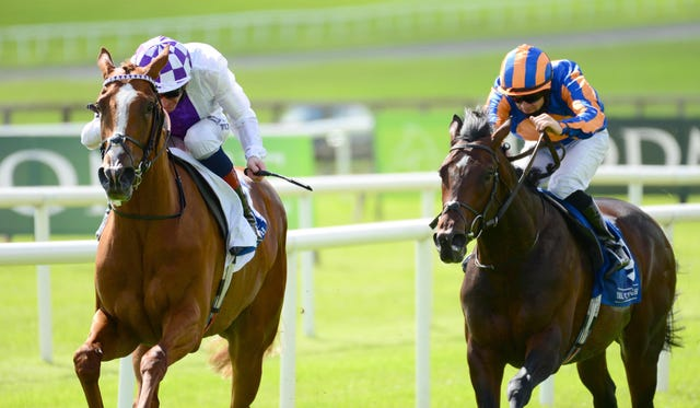 Wembley (right) is one of two for Aidan O'Brien