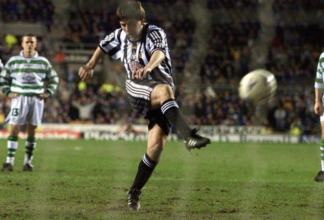 Peter Beardsley had two spells at Newcastle during his playing career