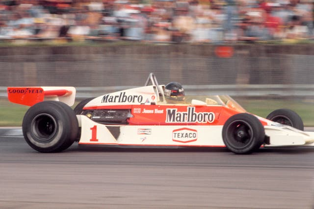 James Hunt was compelling to watch
