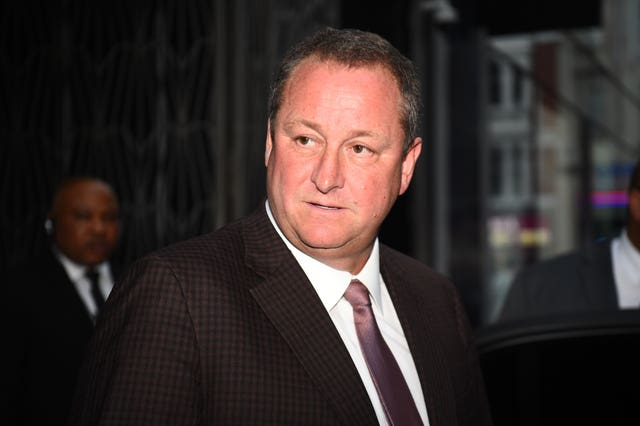 Mike Ashley's bid defeated one from <a href=