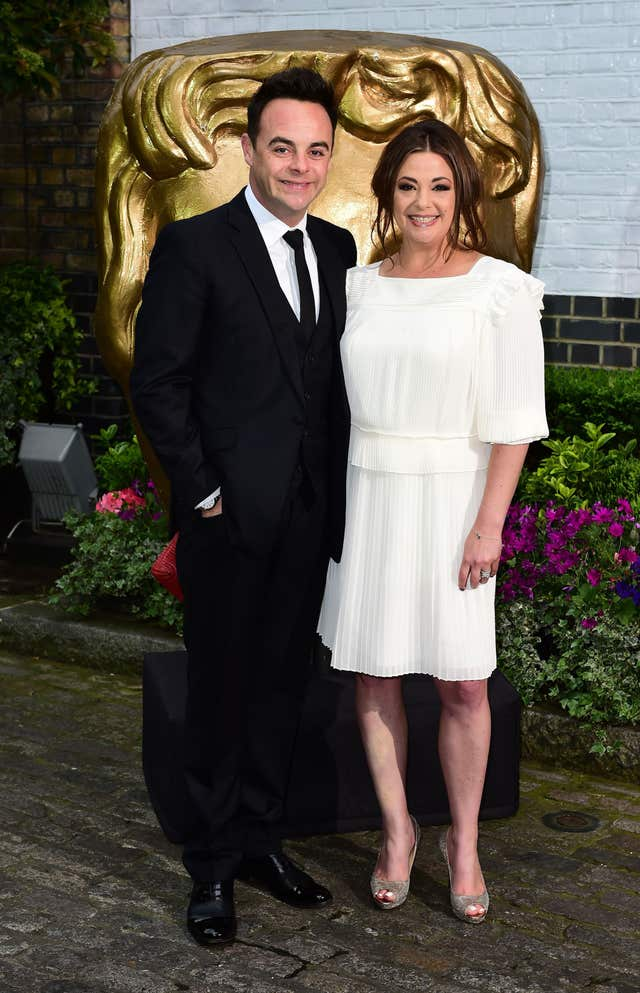 Ant McPartlin and Lisa Armstrong (Ian West/PA)